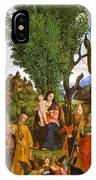 Madonna And Child With Saints IPhone Case