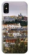 Madrid Panorama From Debod Lookout Madrid Spain  IPhone Case