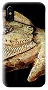Magdalenian Carved Bison  IPhone Case