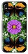 Magenta Daisy IPhone Case