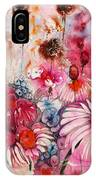 Magenta May Flowers IPhone Case