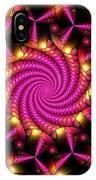 Magenta Mosaica IPhone Case