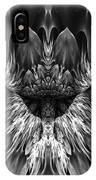 Magenta Until - Black And White 2 IPhone Case