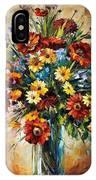 Magic Flowers IPhone Case