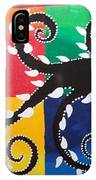 Magic Of Black With The Colourful Lake  IPhone Case