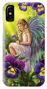 Magical Pansies IPhone X Case