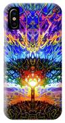Magical Tree And Sun 2 IPhone Case