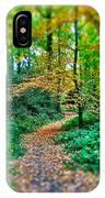 Magical Woodland Walk IPhone Case