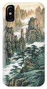 Magnificent Mount Huangshan IPhone Case