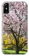 Magnolia Blossoms Galore IPhone Case