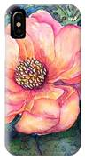 Magnolia In The Evening IPhone Case