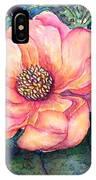 Magnolia In The Evening IPhone Case