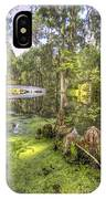 Magnolia Plantation Bridge Cypress Garden IPhone Case