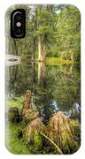Magnolia Plantation Cypress Garden IPhone Case