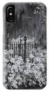 Magnolia Plantation Lightpost IPhone Case