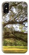 Magnolia Plantation Live Oak Sunrise IPhone Case