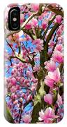 Magnolia Tree Beauty #3 IPhone Case