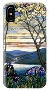 Magnolias And Irises IPhone Case