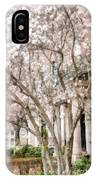 Magnolias In Back Bay IPhone X Case