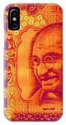 Mahatma Gandhi 500 Rupees Banknote IPhone Case