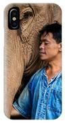 Mahout Em IPhone Case