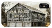 Mail Pouch Barn - Us 30 #3 IPhone Case