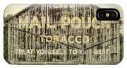 Mail Pouch Barn - Us 30 #7 IPhone Case