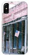 Main Street Micanopy Florida IPhone Case