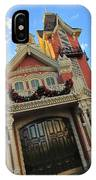 Main Street Usa Fire Department IPhone Case