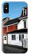 Maine Blue Hill Alleyway IPhone Case