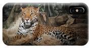 Majestic Leopard IPhone X Case