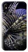 Majestic Lionfish IPhone Case
