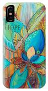 Spirit Lotus With Hope IPhone Case by TM Gand