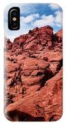Majestic Red Rocks IPhone Case