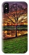 Majestic Sunrise Reflections Art IPhone Case