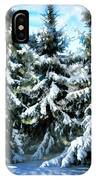 Majestic Winter In New England  IPhone Case