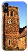 Maui Hawaii Makawao Union Church II IPhone Case