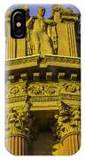 Male Statue Palace Of Fine Arts IPhone Case