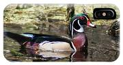 Male Wood Duck Wakulla River IPhone Case