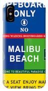 Malibu Beach California Surf IPhone Case
