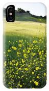 Malibu Creek Wildflowers IPhone Case