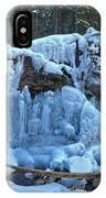 Maligne Canyon Winter Wonders IPhone Case
