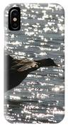Mallard Twilight Landing IPhone Case