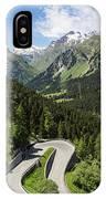 Maloja Pass In Graubunden, Switzerland IPhone Case