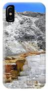 Mammoth Hot Springs3 IPhone Case