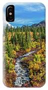 Mammoth Lakes Autumn Falls IPhone Case