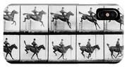 Man And Horse Jumping IPhone Case
