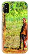 Man In Shade IPhone Case