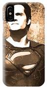 Man Of Steel IPhone Case