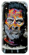 Man With Colourful Face IPhone Case